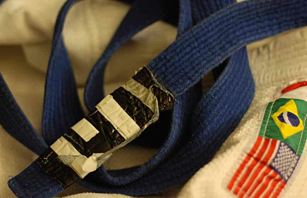 A bjj blue belt